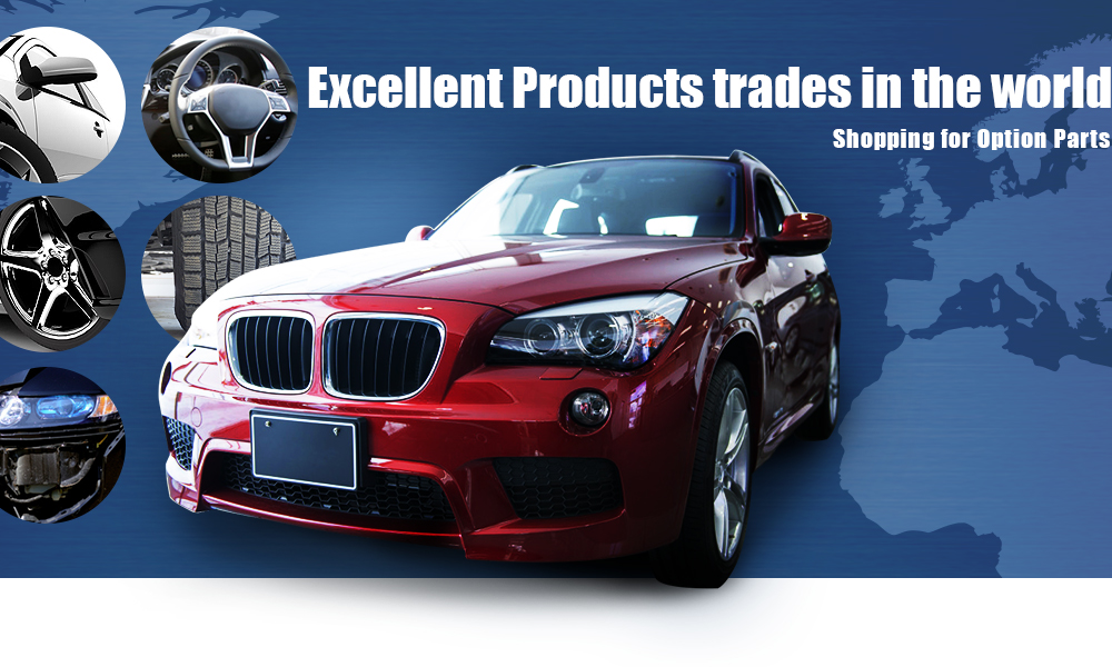Exellent Products trades in the world. Shopping for Option Parts.